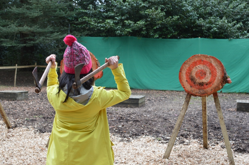 Ripley Castle Axe Throwing; Live for Today