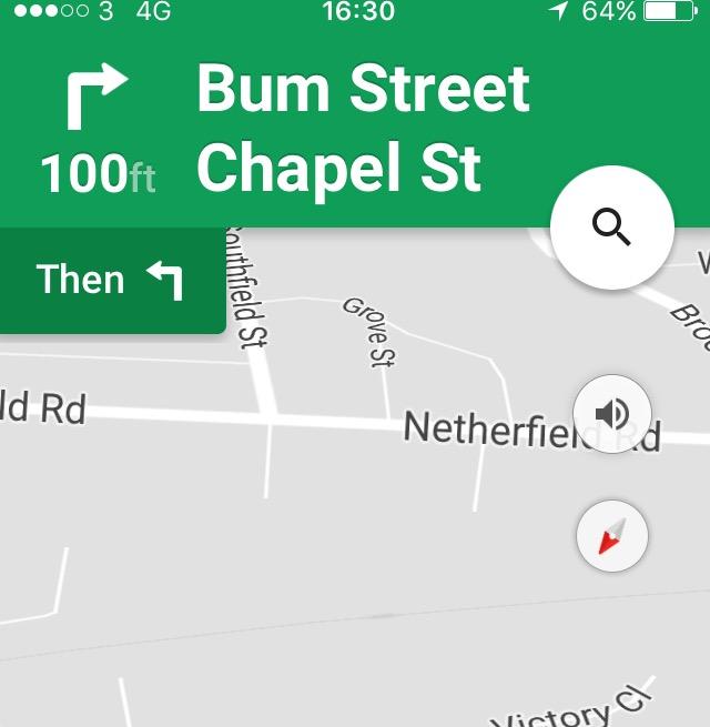 Bum Street