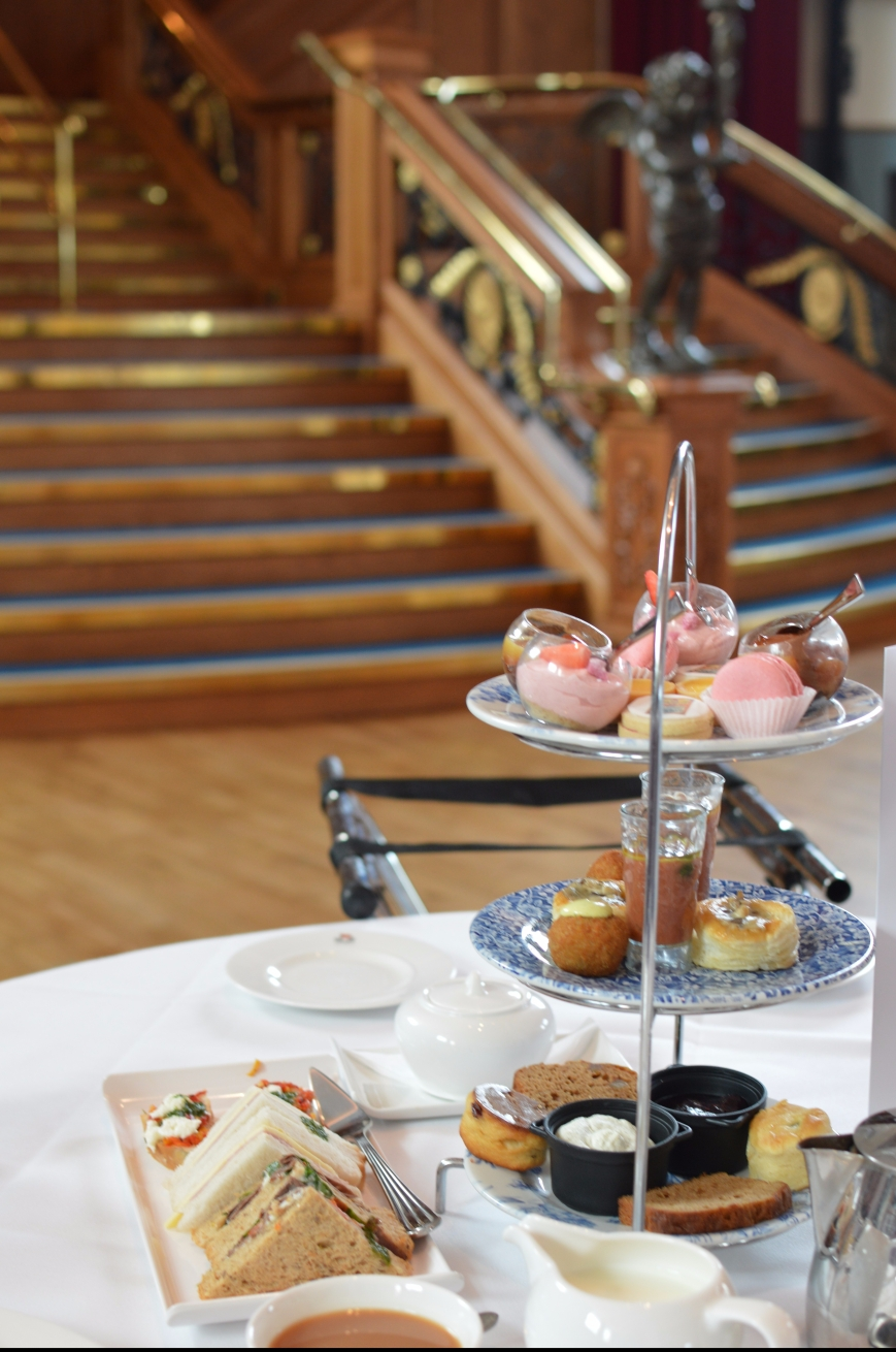 Titanic Museum Afternoon Tea