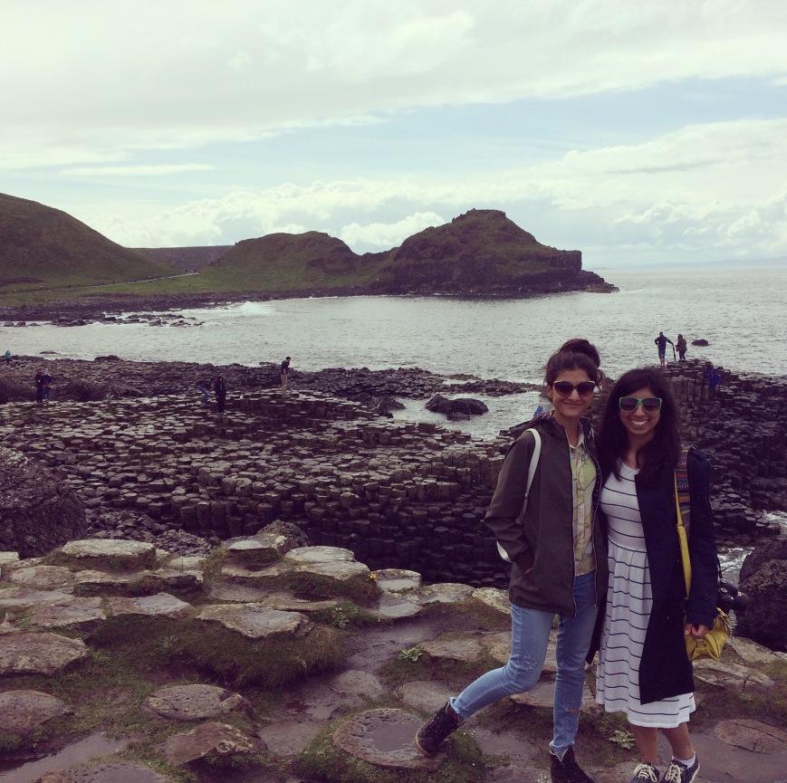 Giant's Causeway, Friends