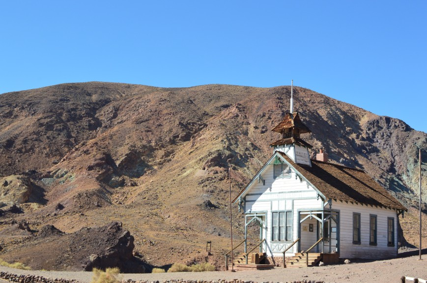 Calico Ghost Town, schoolhouse