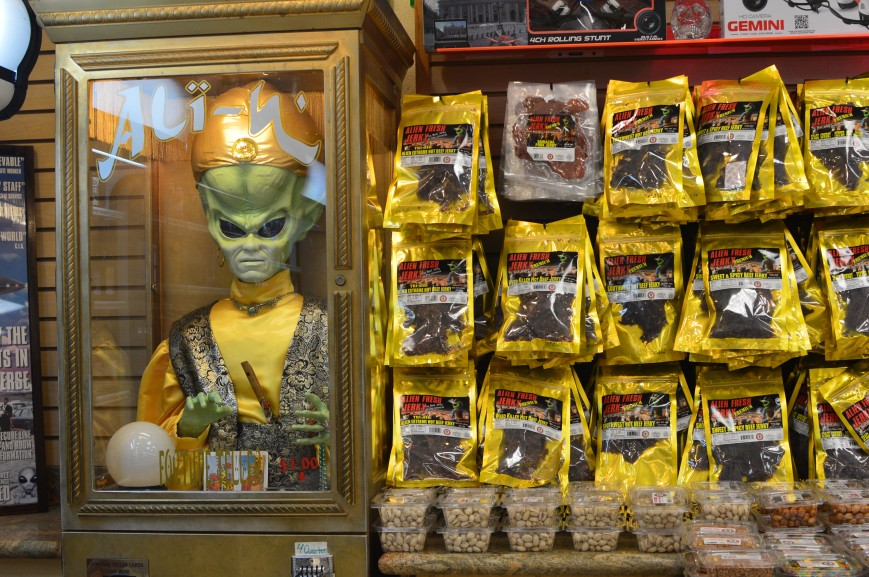 Alien Fresh Jerky, Baker, California