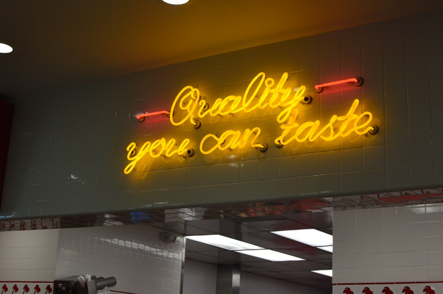In'N'Out Quality You Can Taste