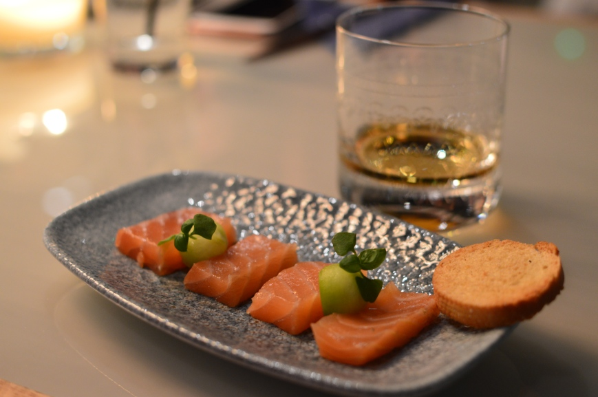 Whisky cured Scottish salmon