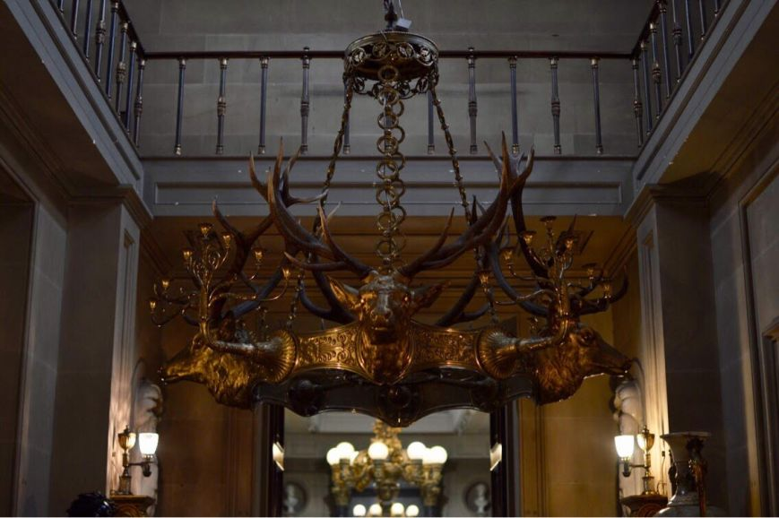 Chatsworth Deer Chandelier