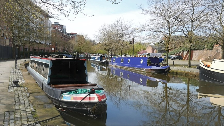 Bridgewater Canal - barges
