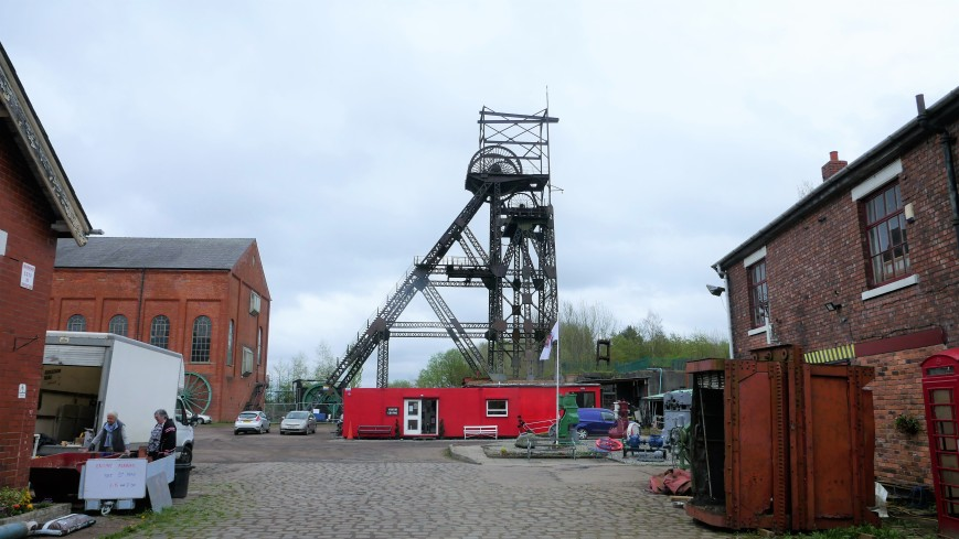 The Lancashire Mining Museum at Astley Green - entrance