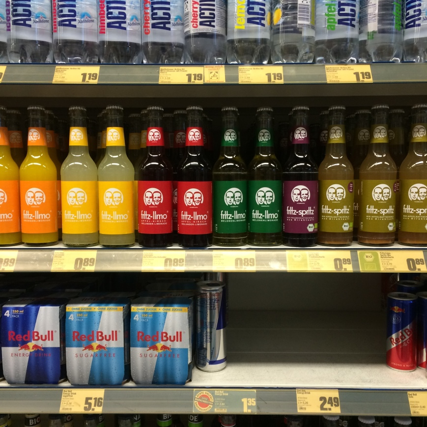 All the varieties of Fritz Kola