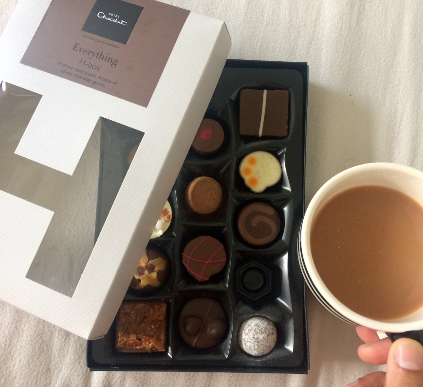 Hotel Chocolat Birthday Breakfast