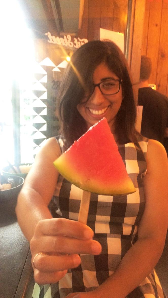East Street Eats Watermelon