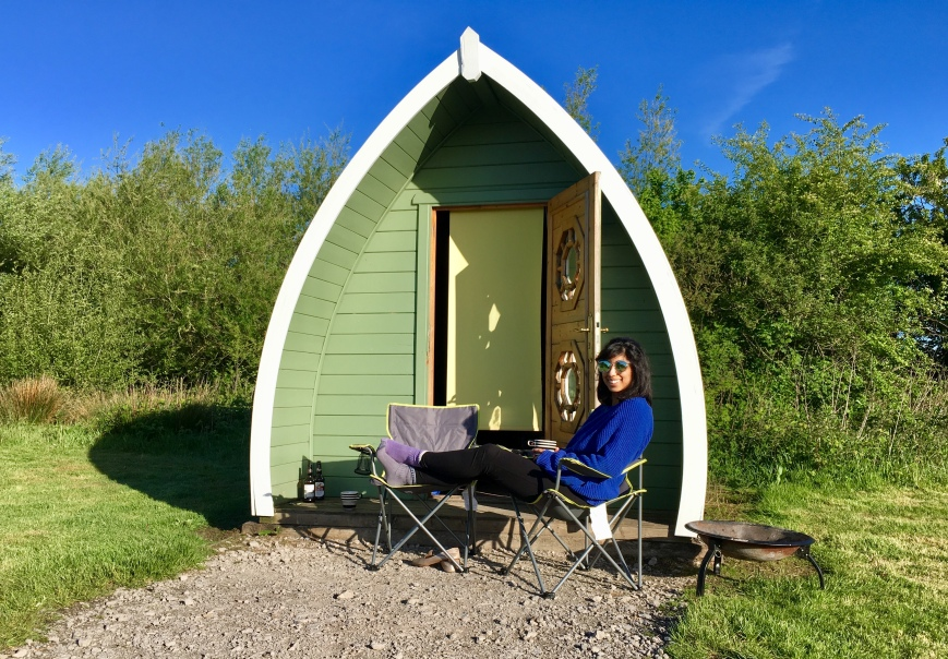Glamping Pod at Stanley Villa Farm